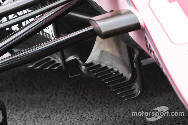 Force India VJM10: Windabweiser
