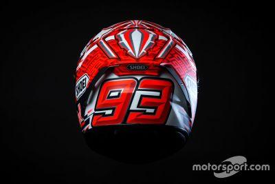Helmdesign von Marc Marquez