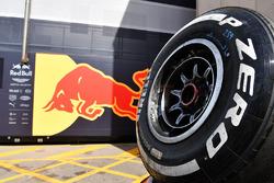 Red Bull Racing ve Pirelli lastikleri