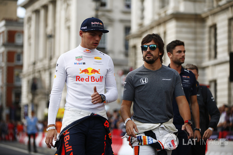 Макс Ферстаппен, Red Bull, Фернандо Алонсо, McLaren
