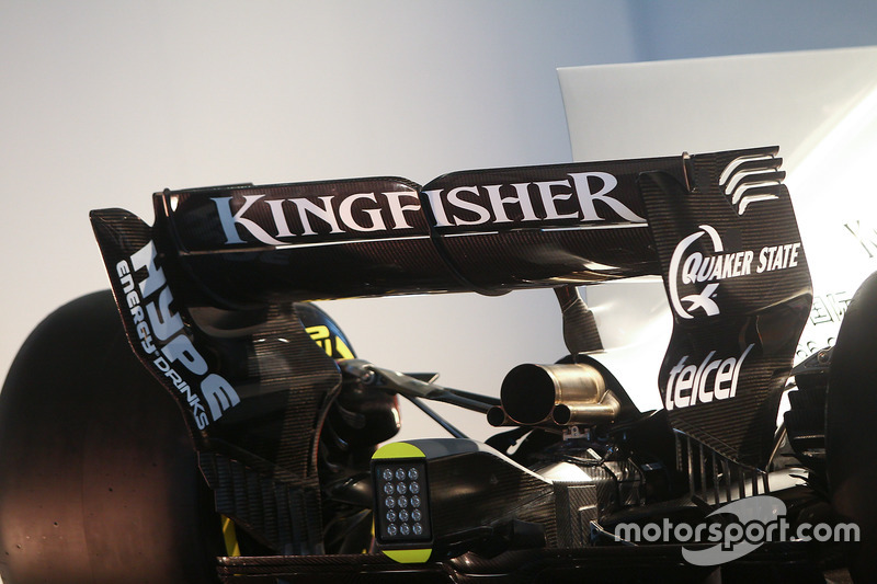 Force India VJM10: Heckflügel