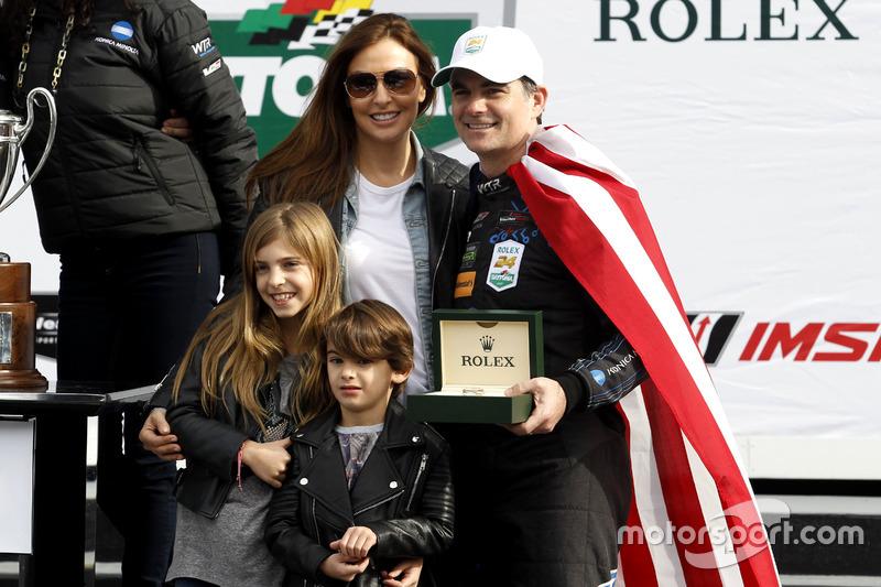 Jeff Gordon, Wayne Taylor Racing con su familia