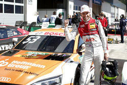 Polesitter Jamie Green, Audi Sport Team Rosberg, Audi RS 5 DTM