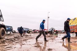 Наводнение на биваке в Оруро