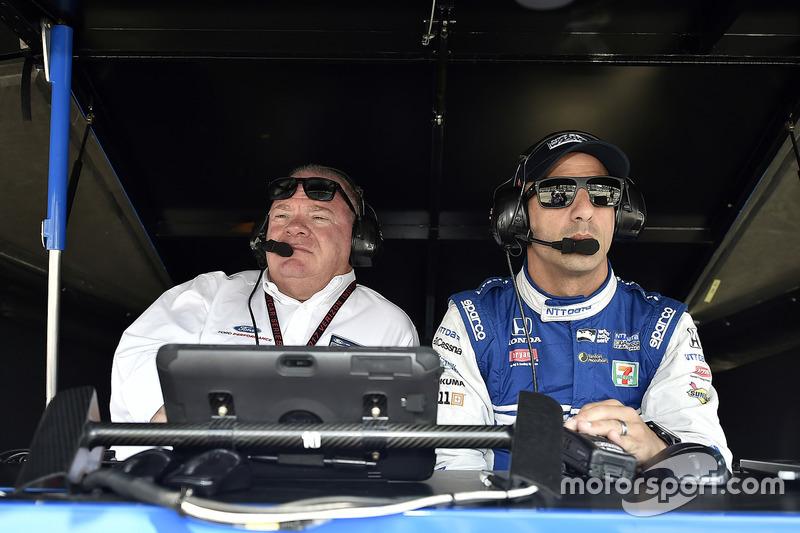 Tony Kanaan, Chip Ganassi Racing Honda, Chip Ganassi