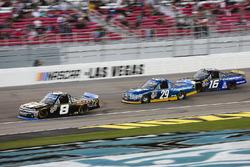 John Hunter Nemechek, SWM-NEMCO Motorsports Chevrolet, Chase Briscoe, Brad Keselowski Racing Ford, a