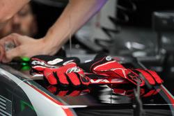 Handschuhe von Romain Grosjean, Haas F1 Team