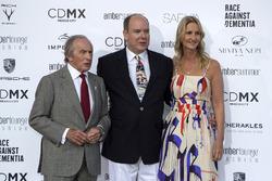Jackie Stewart; Prinz Albert von Monaco; Sonia Irvine