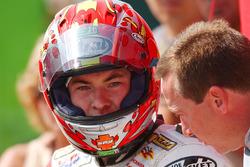 Nicky Hayden, Honda, avec Freddie Spencer