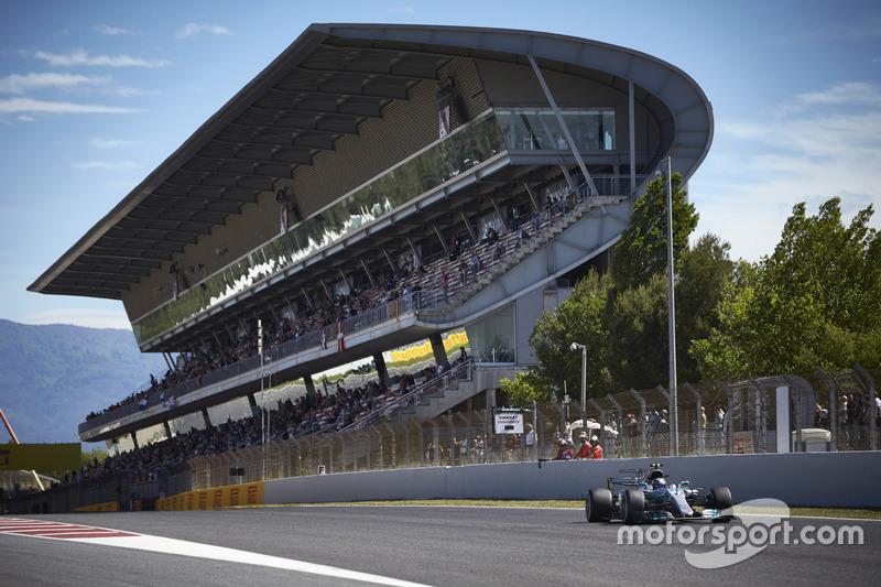 3: Валттери Боттас, Mercedes AMG F1 W08