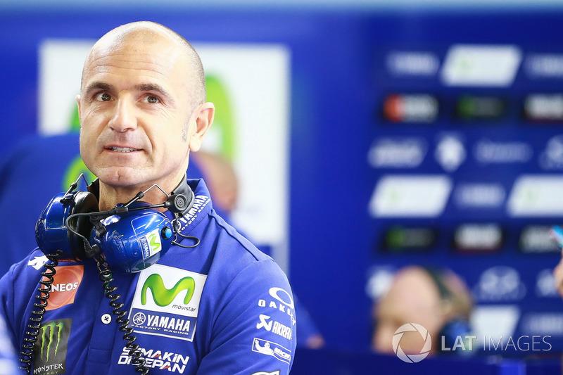 Руководитель команды Yamaha Factory Racing Массимо Мерегалли