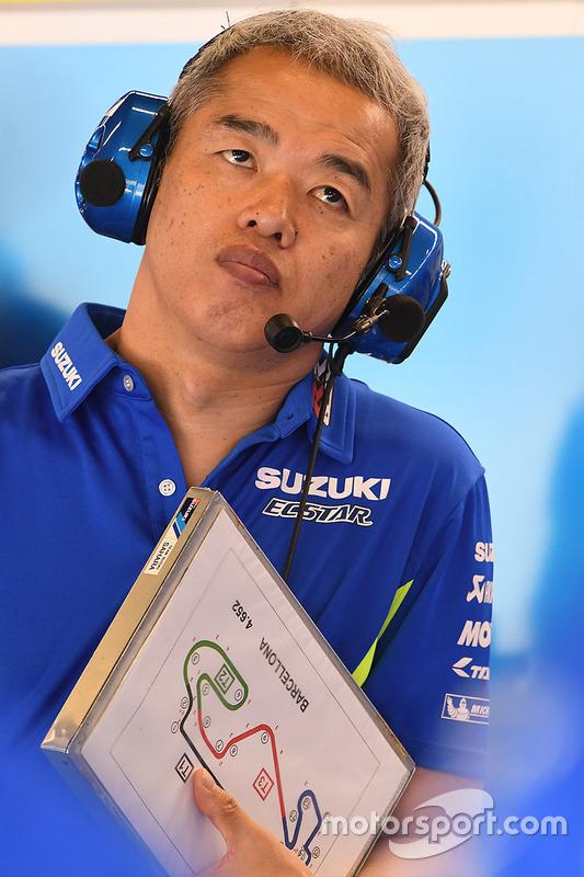 Руководитель проекта Team Suzuki MotoGP Шиничи Сахара