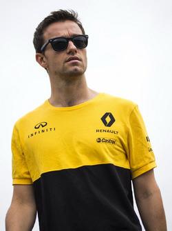 Jolyon Palmer, Renault Sport F1 Team pist yürüyüşü