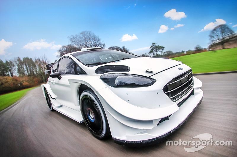 2017 Ford Fiesta WRC