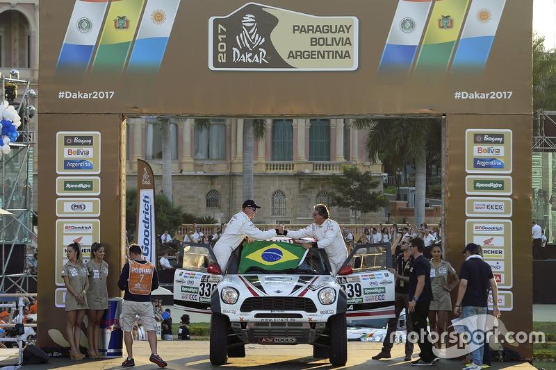 #339 X-Raid Team, Mini: Sylvio de Barros, Rafael Capoani
