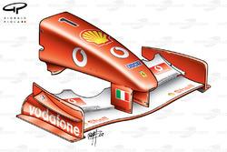 Ferrari F2002 nose