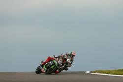 Tom Sykes, Kawasaki Racing, passe Jonathan Rea, Kawasaki Racing