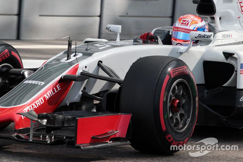11e - Romain Grosjean (Haas F1)