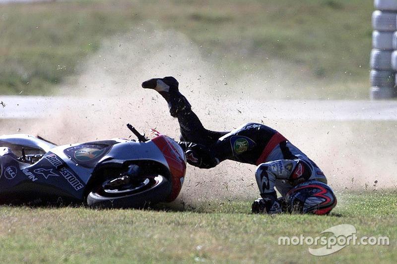 Jeremy McWilliams, Proton Team KR crash