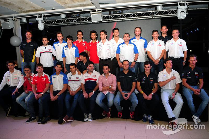 Plantel de pilotos del Súper TC2000 para 2016