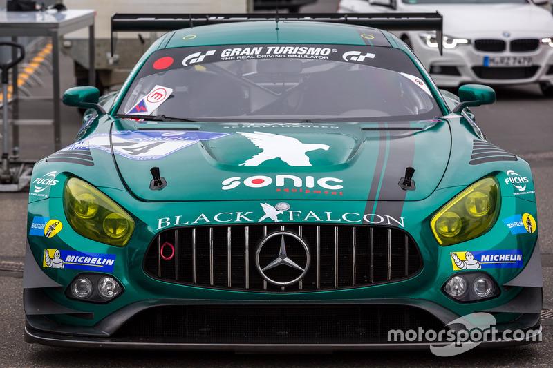 #14 Black Falcon, Mercedes-AMG GT3: Abdulaziz Al Faisal, Gerwin, Indy Dontje, Rob Huff