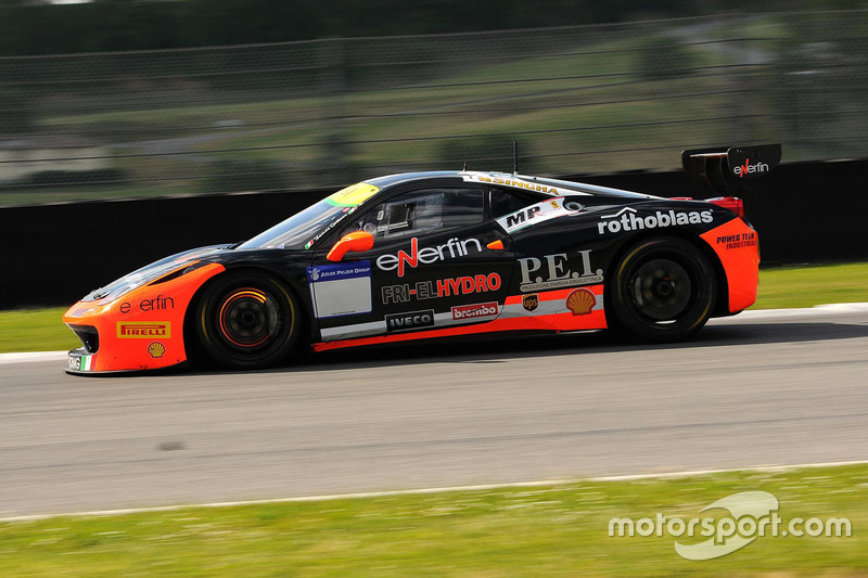 #161 Ineco - MP Racing, Ferrari 458: Thomas Gostner