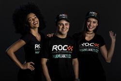 Felipe Massa with the ROC girls