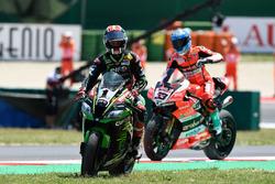 El ganador de la carrera Jonathan Rea, Kawasaki Racing