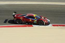 #71 AF Corse Ferrari 488 GTE: Давіде Рігон, Сем Бьорд