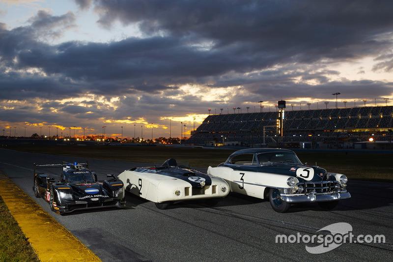 "1950 Cadillac Series 61, Le Mans ""LeMonstre"" and 2018 Cadillac DPi-V.R Prototype"