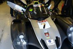 Edoardo Liberati, Tom Dillmann e Mikael Grenier ai test di Silverstone con la Ligier LMP3 del T-Sport