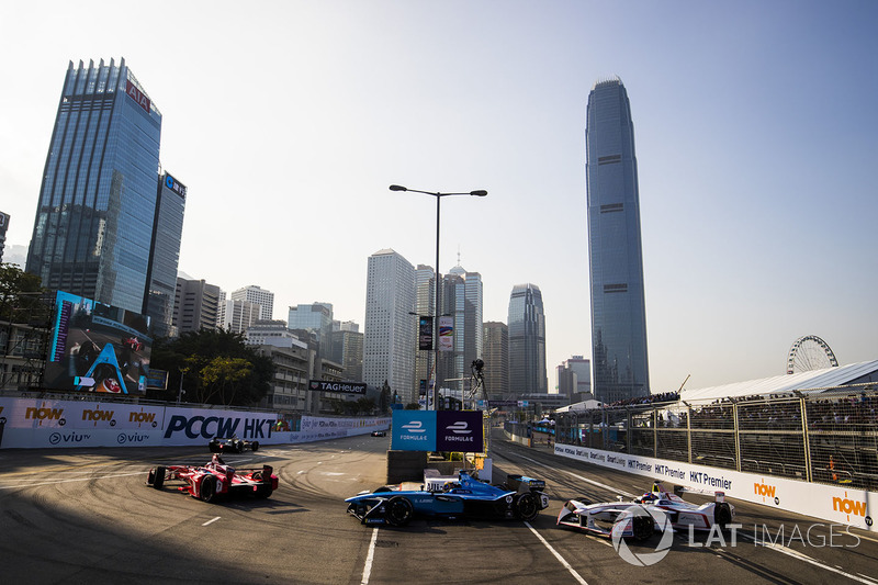 Jerome D'Ambrosio, Dragon Racing, Sébastien Buemi, Renault e.Dams & Neel Jani, Dragon Racing