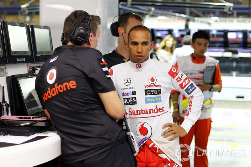 Felipe Massa vs Lewis Hamilton - GP de Singapur 2011