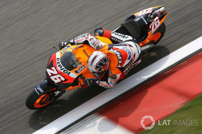 2006: GP de China, primera pole en MotoGP en su cuarta carrera