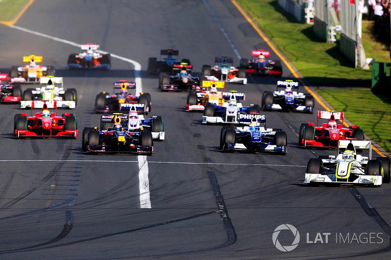 20 Гран При из 22 проведенных на «Альберт-парке» открывали чемпионат