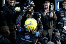 Pole position voor #10 Wayne Taylor Racing Cadillac DPi: Renger Van Der Zande