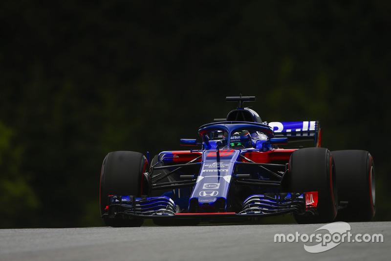 19: Brendon Hartley, Toro Rosso STR13, 1'05.366 (35 posiciones de sanción incluidas)