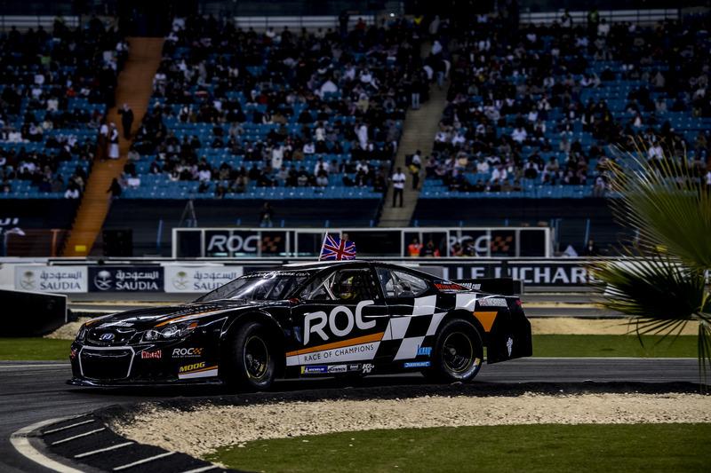 Lando Norris del equipo de Gran Bretaña conduciendo el Whelen NASCAR