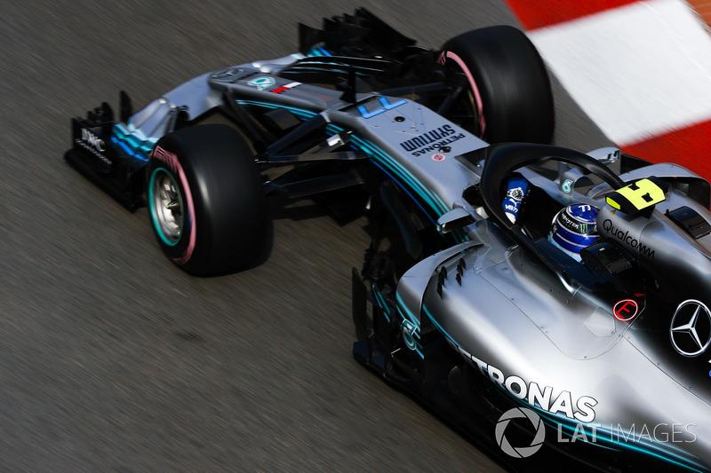 GP Monako - Valtteri Bottas