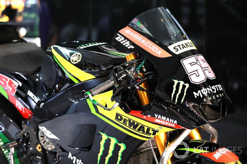 Hafizh Syahrin, Monster Yamaha Tech 3 fairing