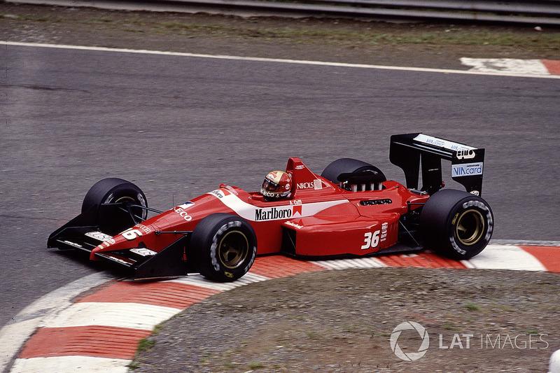 Алекс Каффи, Scuderia Italia/Dallara F188