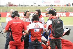 Jack Miller, Pramac Racing, attend sur la grille de départ