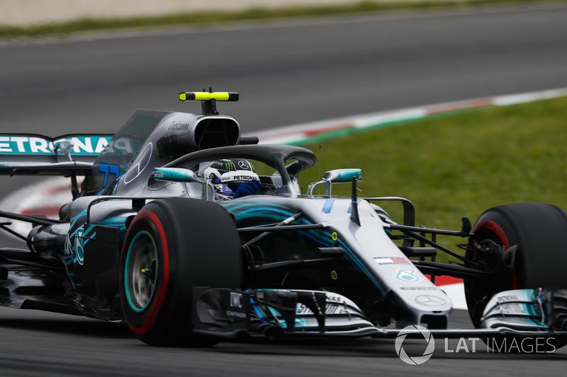 2: Valtteri Bottas, Mercedes AMG F1 W09, 1'16.213