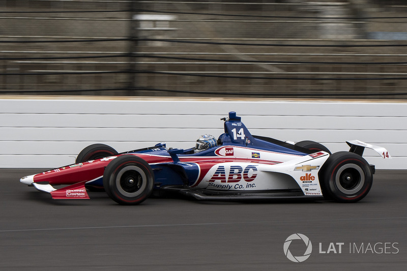 DNF: Tony Kanaan, A.J. Foyt Enterprises, Chevrolet