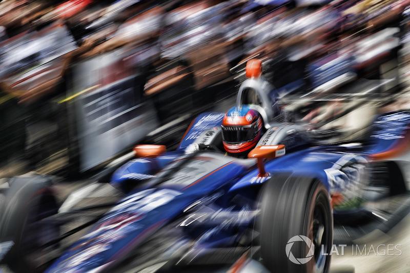 23: Stefan Wilson, Andretti Autosport Honda, 225.863