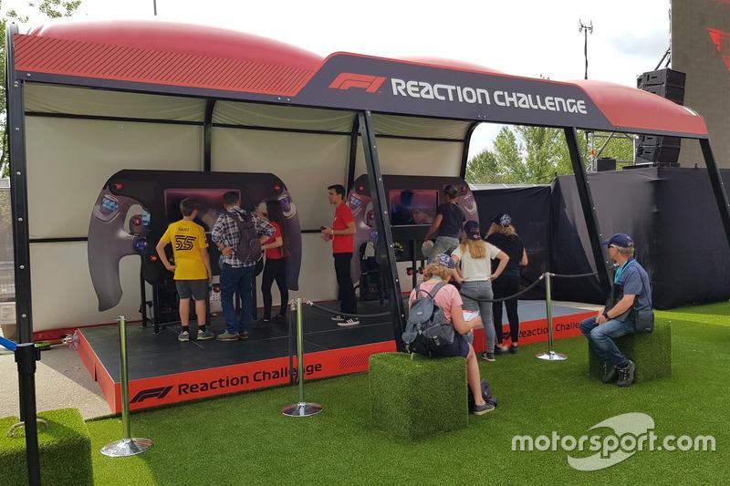 Reaksi Anda secepat para pembalap Formula 1?