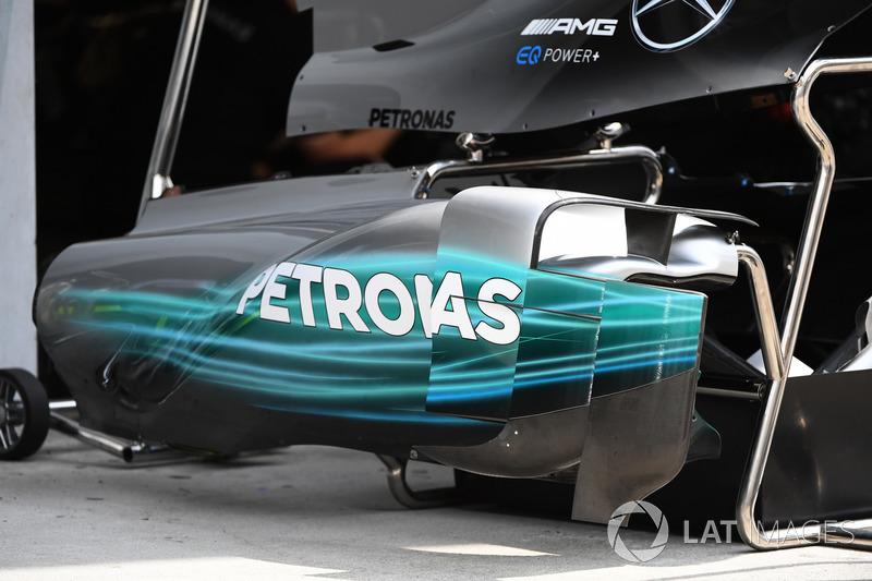 Mercedes-Benz F1 W08  bodywork