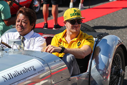 Nico Hulkenberg, Renault Sport F1 Team on the drivers parade