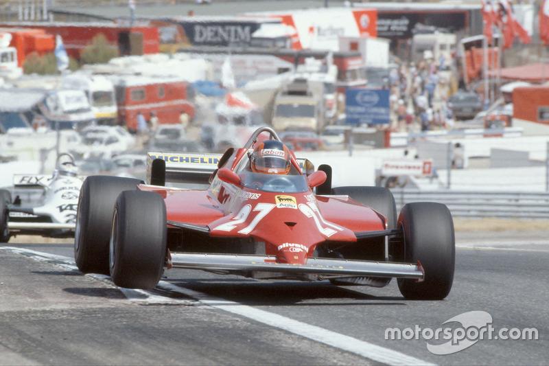1981: Ferrari 126CK (две победы, 5-е место в КК)