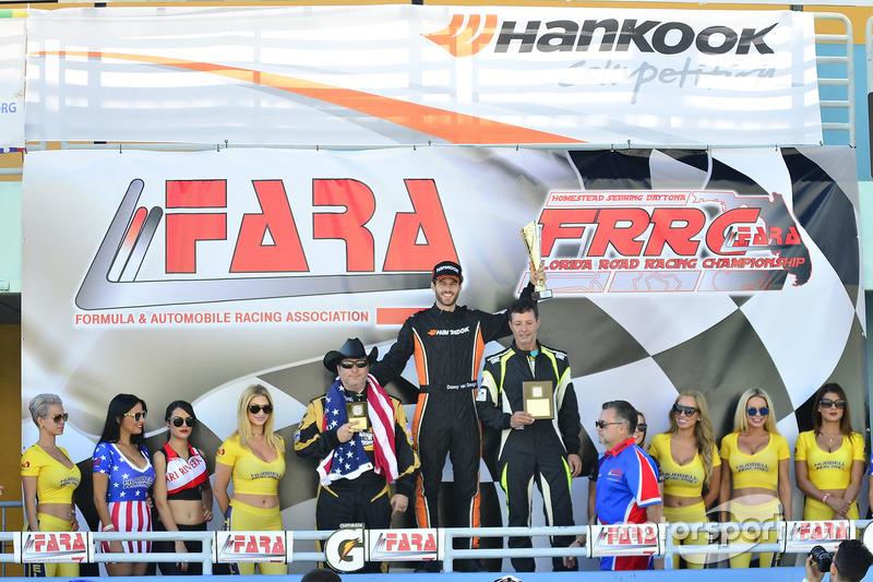 William Hubbell de Hubbell Racing, Danny Von Dongen & Sam Tawfik
